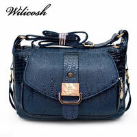 2016 Hot Sale Women Messager Bags High Quality PU Leather Shoulder Bag Mom Causal Crossbody Bags