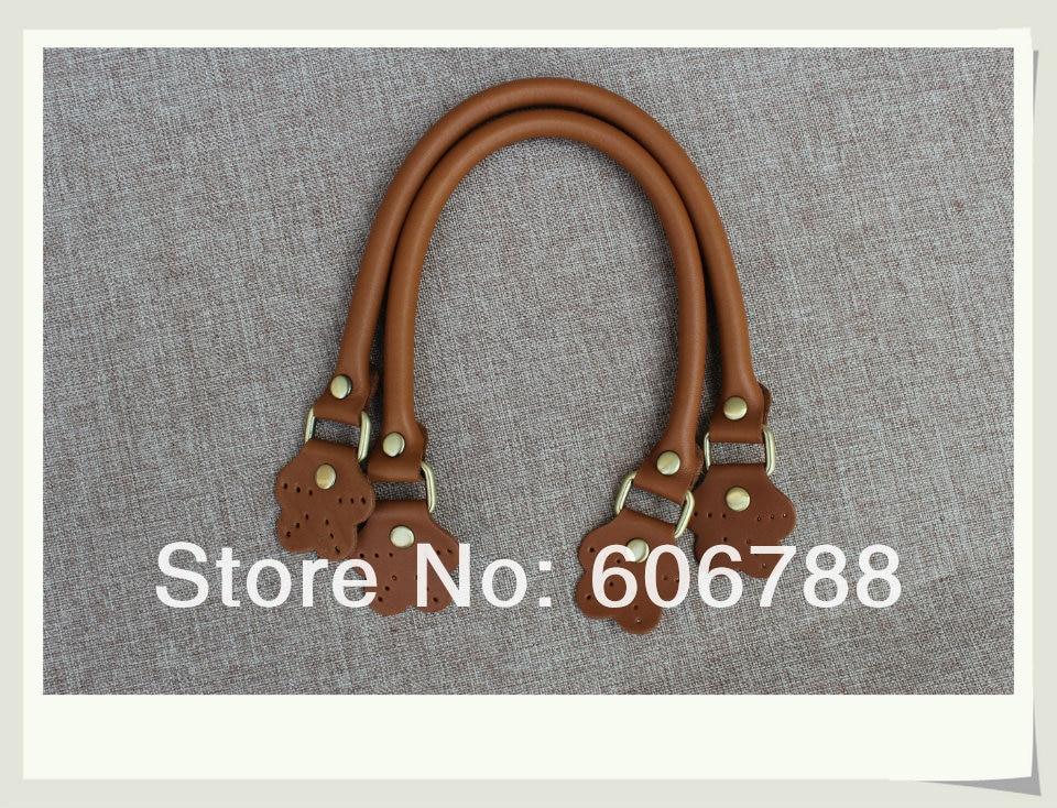 Ehrlich Kostenloser Versand Erste Schicht Leder Hochwertige Tasche Griff, Diy Tasche Zubehör Handtasche Hanlde/40*1,2 Cm