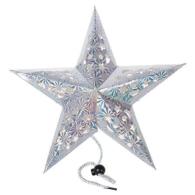 Pentagram Funf Stern Papier Hangende Ornamente Weihnachten Hochzeit