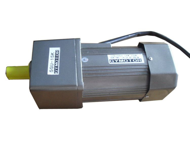 цена на AC 220V 140W Single phase regulated speed motor with gearbox. AC gear motor,