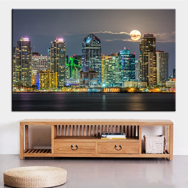Aliexpress.com : Buy Large size Printing Oil Painting san diego ...