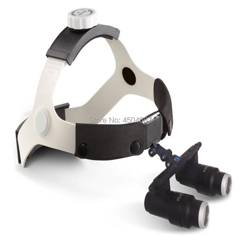 Haute Qualité Médicale Loupe 4.0/5.0/6.0/6.5X Médical Loupe Binoculaire Médical Chirurgie Dentaire Loupes FD-503K