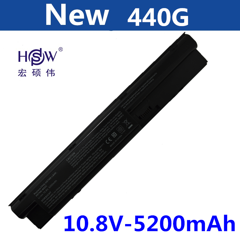 HSW 11.1V 5200MAH NEW Laptop Battery For ProBook 440 445 450 455 470 G0 G1 for ElitePad 900 G1 FP06 FP09 H6L26AA H6L27AA bateria ...
