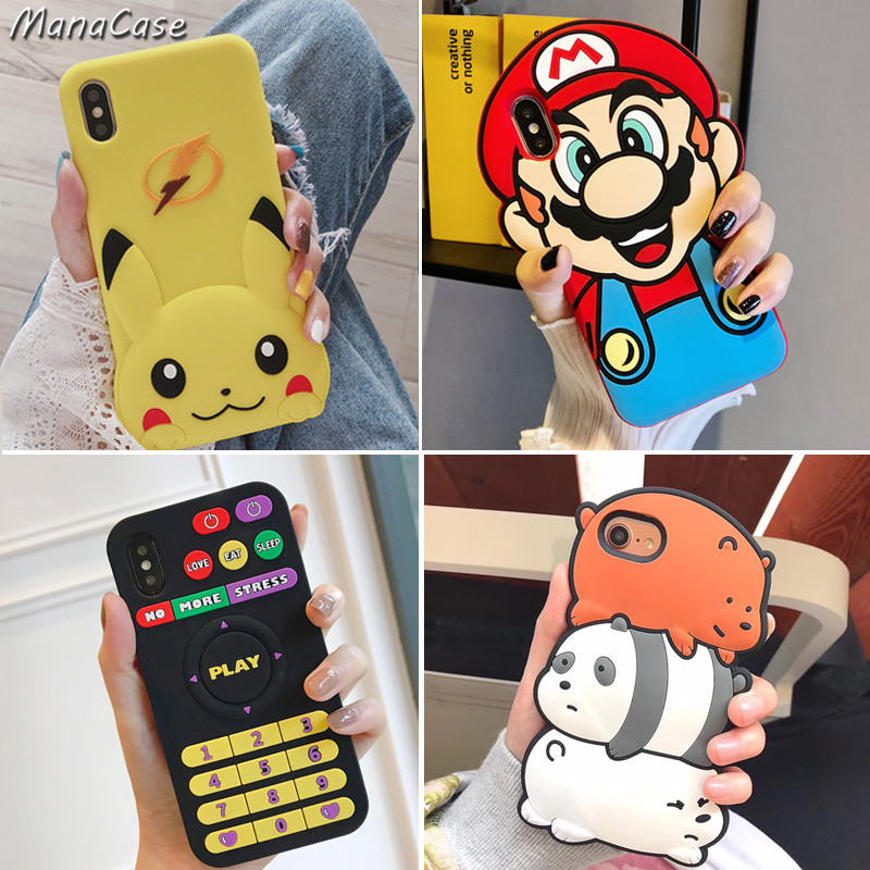 cute-3d-font-b-pokemon-b-font-pikachu-mario-phone-case-for-iphone-x-xs-max-xr-6-6s-7-8-plus-for-silica-gel-back-cover-cases