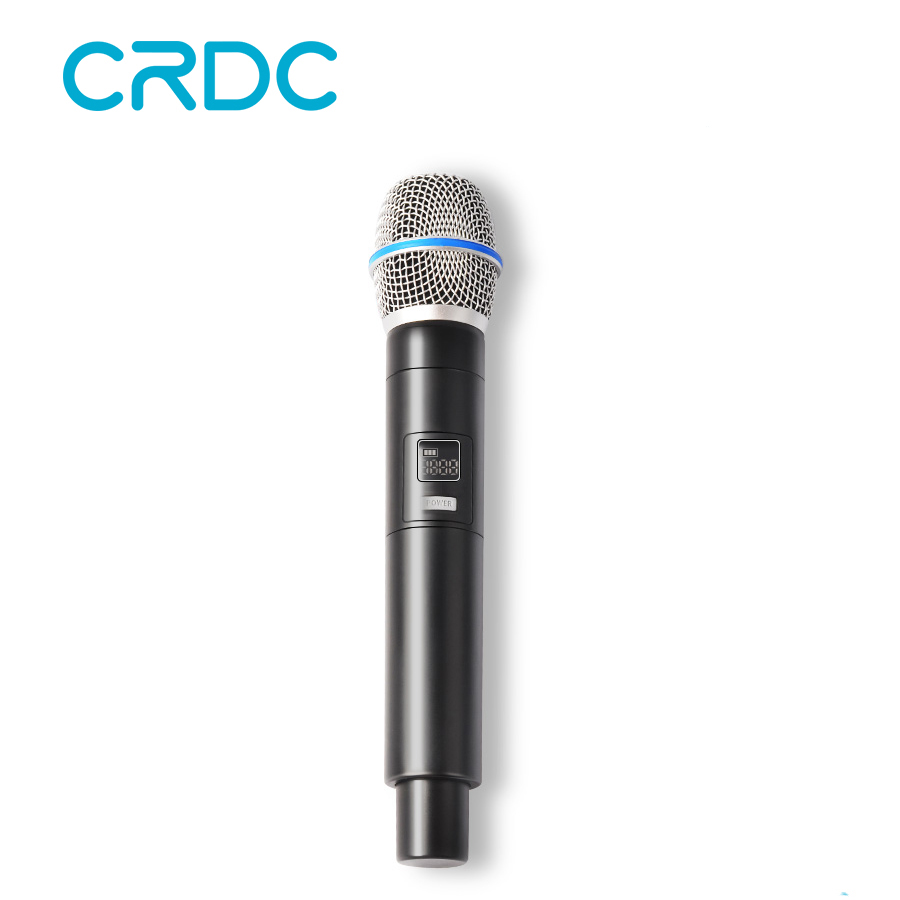 CRDC Professional Wireless Microphone 3.5mm Mini USB Receiver Studio Karaoke Microphone For Computer Video Recording Mikrofon