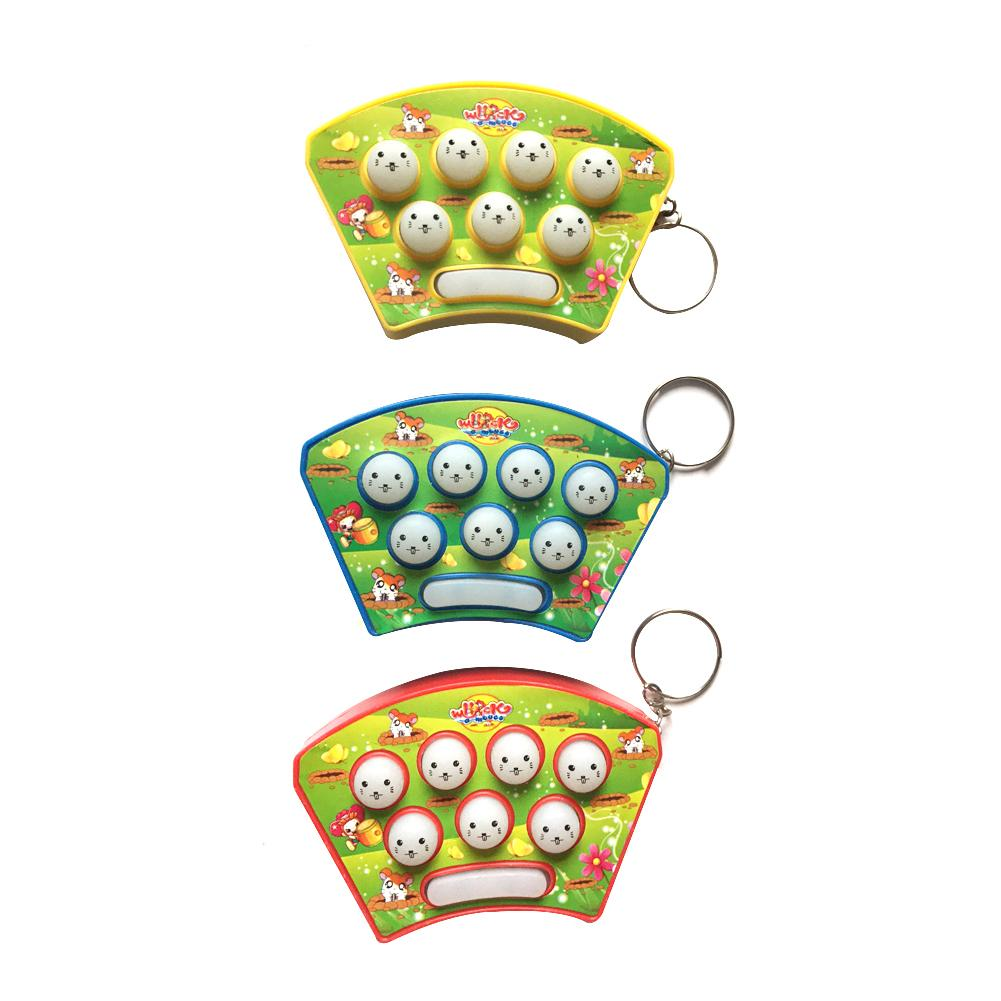 Toys & Hobbies Mini Puzzle Sound And Light Music Knock Hamster Electronic Game Toys Goods Of Every Description Are Available