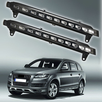 For 2007 2010 Audi Q7 22 LED Direct Fit LED Daytime Running w/Turn Signal Lights