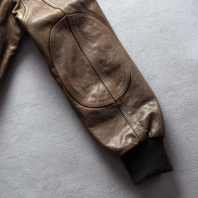 HTB1 hWKFr1YBuNjSszeq6yblFXa4 AVIREX FLY 2018 Genuine Leather jacket Men Bomber Jacket Fur Collar Cowskin Short Air Force Flight Jacke Vintage Winter Coat