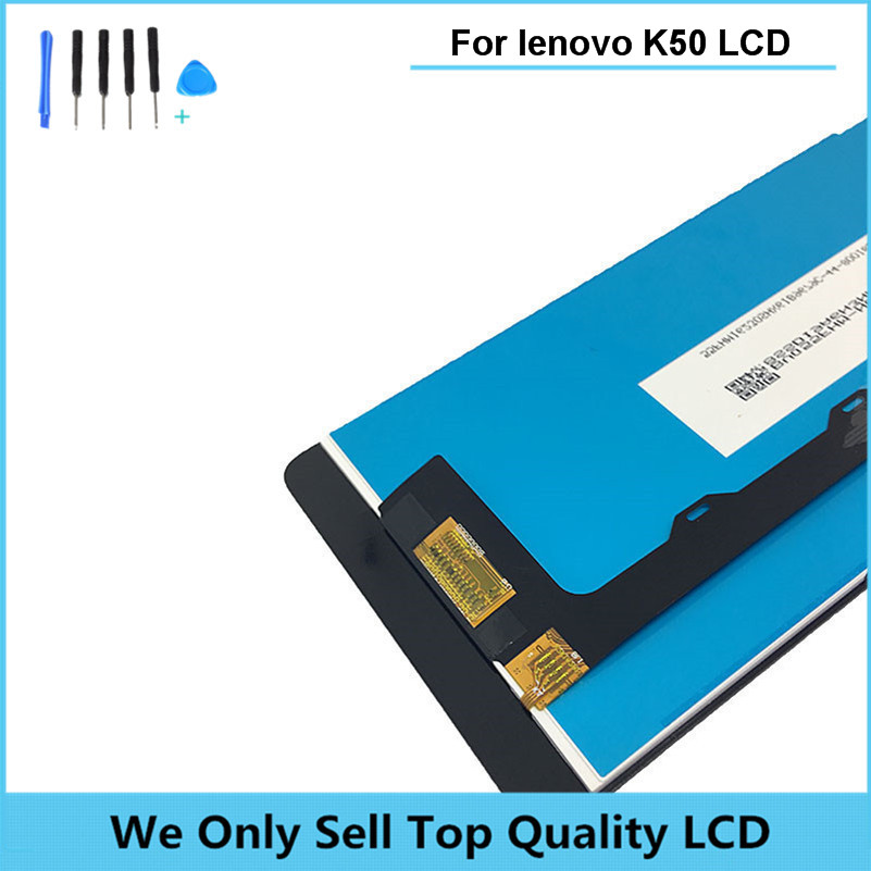 LCD Display Compatible for Lenovo K3 Note with Touch Screen Digitizer for Lenovo K50 Assembly Free Shipping+Tracking + Tools