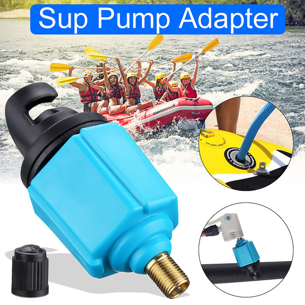 Sup Pump Adapter Inflatable Boat Accessory Paddle Board Air Valve Durable