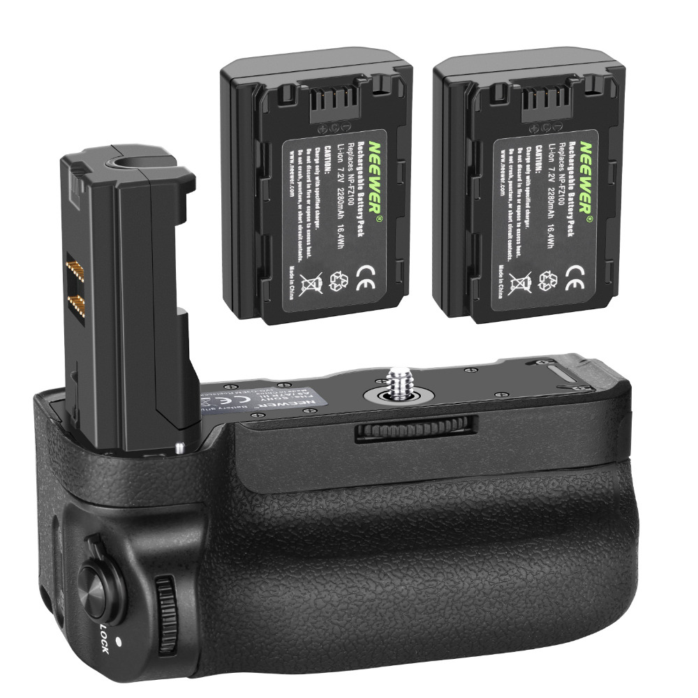 Neewer Vertical Battery Grip for Sony A9 A7III A7RIII Cameras,Replacement for Sony VG-C3EM+7.2v 2280mAh 16.4Wh Li-ion BatteryNeewer Vertical Battery Grip for Sony A9 A7III A7RIII Cameras,Replacement for Sony VG-C3EM+7.2v 2280mAh 16.4Wh Li-ion Battery