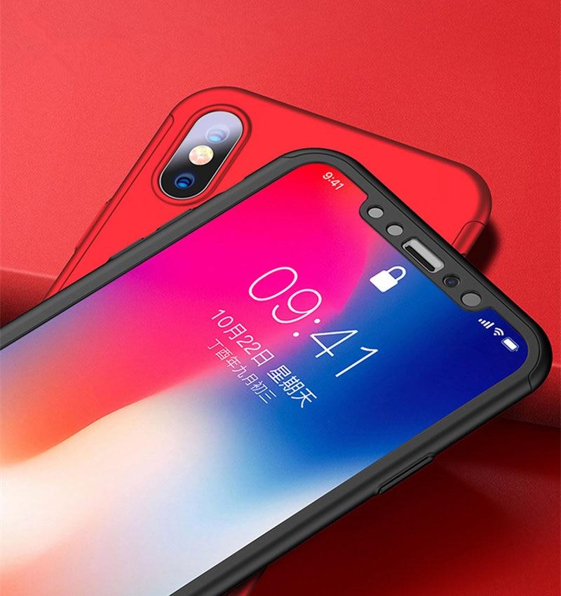 360 Προστατευτική θήκη για iPhone 6 6 S 7 8 Plus - Ανταλλακτικά και αξεσουάρ κινητών τηλεφώνων - Φωτογραφία 5