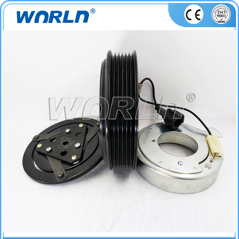 Auto Replacement Parts 12v Auto A/c Compressor Clutch Dcs17ec 6pk For Nissan Cefiro A33/x-trail Sufficient Supply Air-conditioning Installation