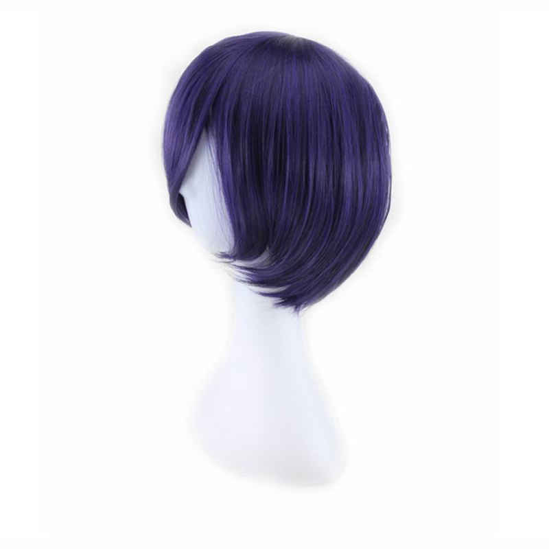 Tokyo Ghoul Touka Kirishima Wig Cosplay Costume Kirishima Toka Women Short Synthetic Hair Halloween + Wig Cap
