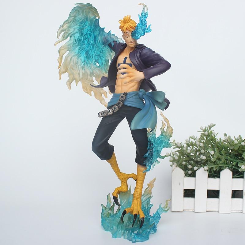 25cm Anime One Piece DX MAS Marco The Phoenix Battle Ver PVC Action Figure Collection Model