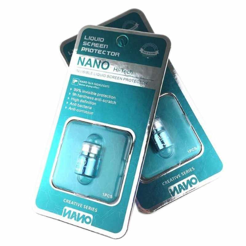 Sıcak 2mL NANO Sıvı Cam Ekran Koruyucu Oleofobik Kaplama Filmi Evrensel Telefonlar Için