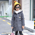 Children Outerwear Warm Coat Sporty Kids Clothes Double-deck Waterproof Windproof Thicken Boys Girls Jackets Autumn And Winter