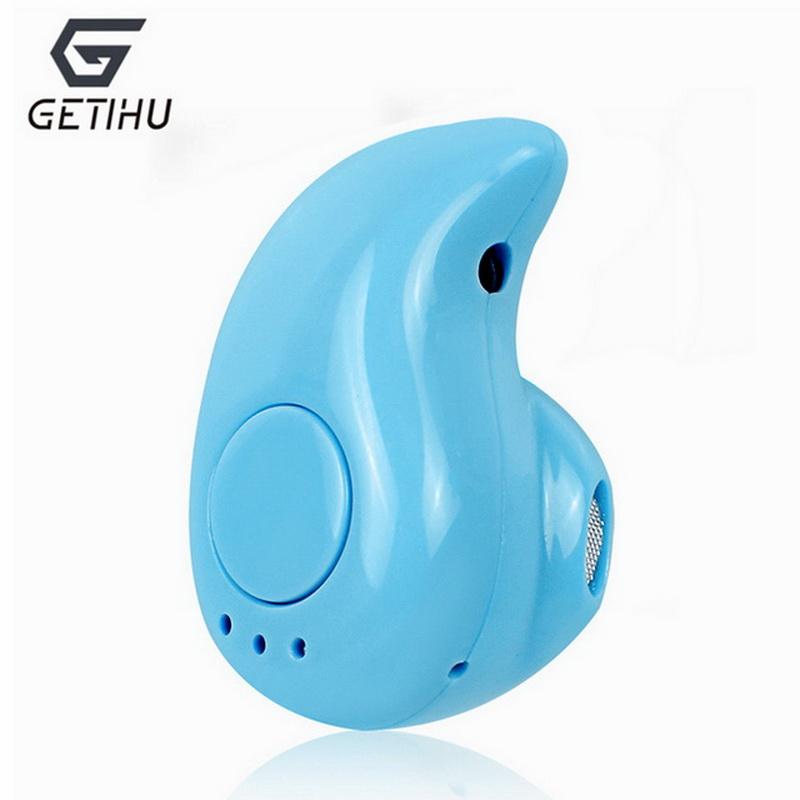 Blue Color Bluetooth Earphone Mini Wireless for Safety Driving