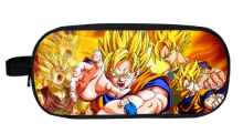 Dragon Ball Z Sun Goku Super Mario Boy Girl Cartoon Pencil Case Bag School Pouches Children Student Pen Bag Kids Purse Wallet