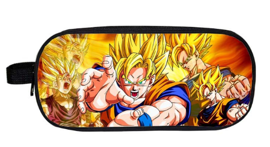 Dragon Ball Z Sun Goku School Pouches Purse Wallet