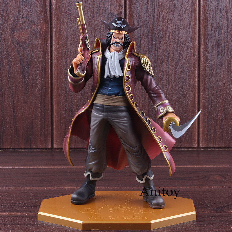 Anime Toys One Piece  MegaHouse POP Gol·D·Roger 26cm PVC Figure with New Box