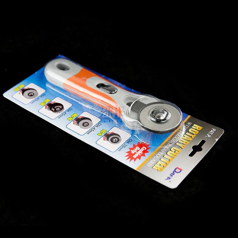 Top quality Rotary Cutter 45mm Fabric Paper Vinyl Circular Cut rotary cutter roller cutter round made iin taiwan rotary cutter