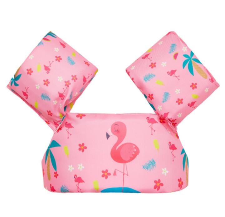 0-1-3-7 Years Old Swimming Pool And Accessories Baby Child Boy Girl Arm Float Circle  Pool Inflatable Flamingo Ring Float