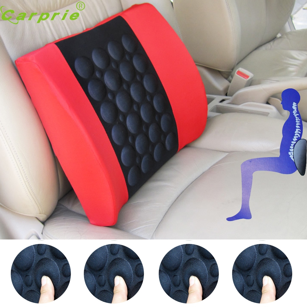 Tiptop Universal Design 12V Car Electric Lumbar Seat Back Massage ...
