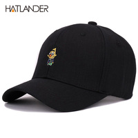 Hatlander Sports Men Women Casual Baseball Caps Snapback Summer Sun Hats Embroidery Curved 100 Cotton Hat