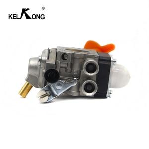 Image 3 - KELKONG Carburetor For Stihl FS87 FS90 FS100 Carb KM100 FS110 KM110 FS130 KM130 HT130 Trimmer Engine Replace ZAMA C1Q S173 S176