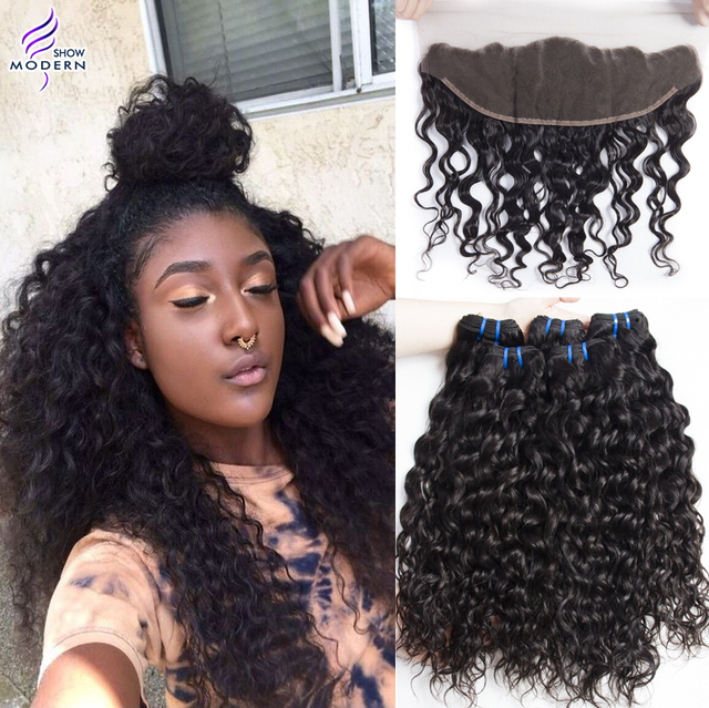 Aliexpress Com Buy 4 Bundles Wet And Wavy Virgin Peruvian Hair