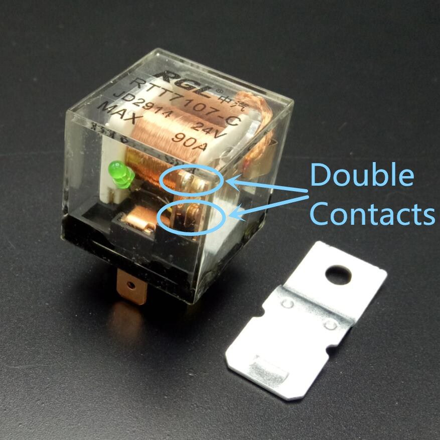 90A double contacts 5 font b pin b font auto font b relay b font silver wiring diagram for relay jd2912 24vdc wiring discover your double door contact wiring diagram at cos-gaming.co