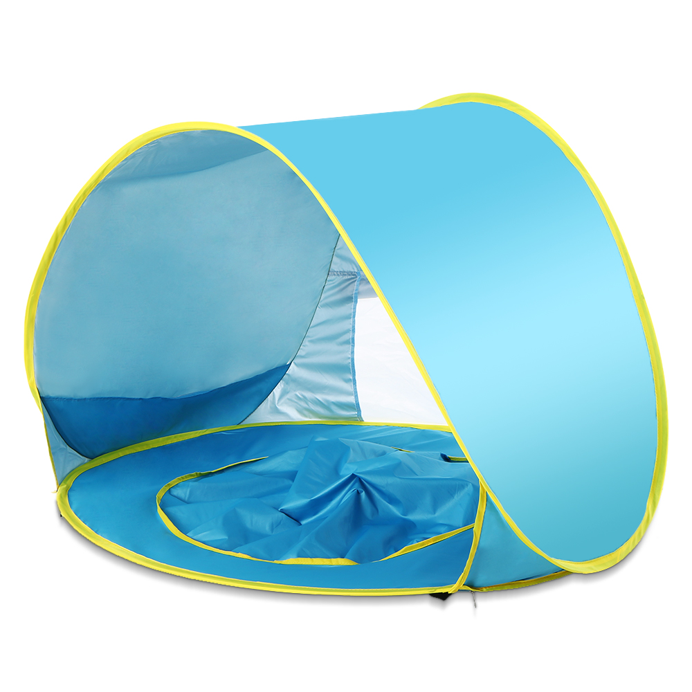 UK Infant UV Protection Baby Beach Tent Pop Up Waterproof Shade Pool Sun Shelter