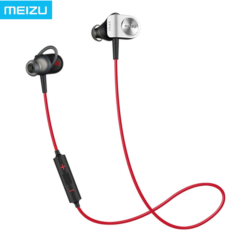 ФОТО 100% Original MEIZU EP51 Wireless Bluetooth Headphones Waterproof Sport Headset Support aptX Noise Cancelling With MIC