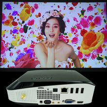 HD projector Multimedia DLP Projector 1280×800 1080P Optical Keystone Usb/av/sd/HDMI/vga Interface Video Games Movie Night