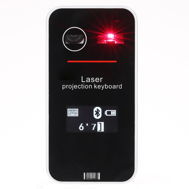 Virtual Touch Keyboard & Mouse Mice LED Screen Mini Portable Wireless Bluetooth QWERTY Projection for iPhone 6s/iPad PC Tablet