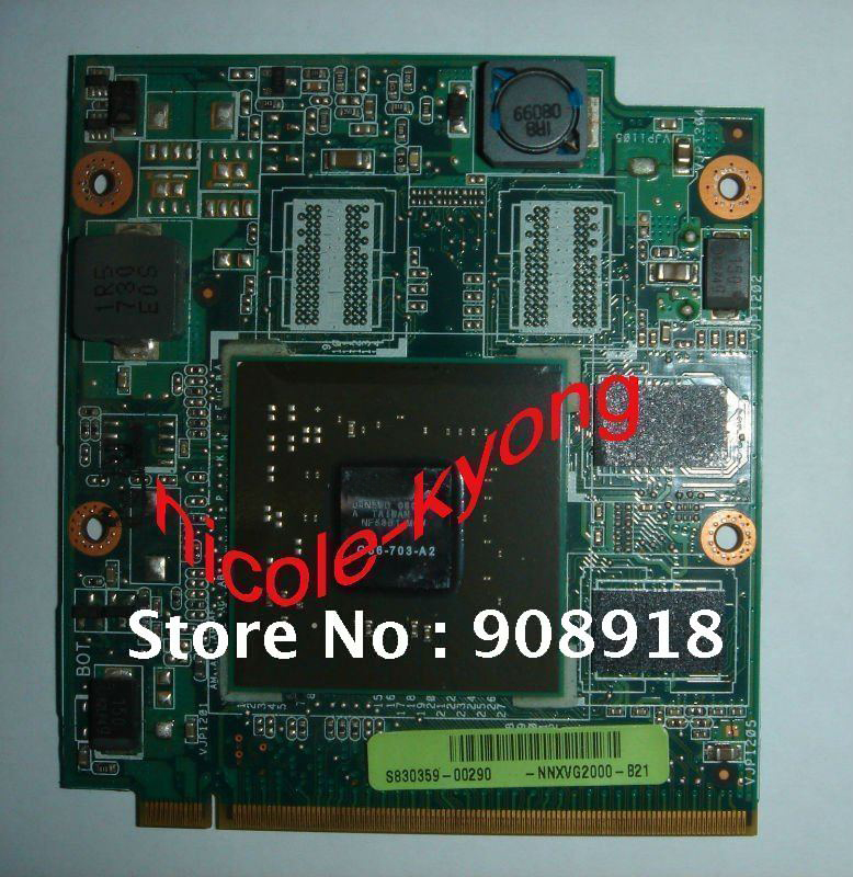 A8S NB8P NNXVG2000-B21 08G28AS0313G 08G28AS0313I 8400M GS G86 703 A2 128M Graphics VGA Video card for ASUS Z99D A8SC A8DC A8S