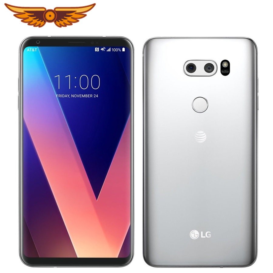 US $186 74 10% OFF|Original Unlocked LG V30 H930DS Octa Core 6 0``4GB RAM  64GB ROM Dual SIM Rear Camera 16 0MP 3 Camera LTE Fingerprint Cellphone-in