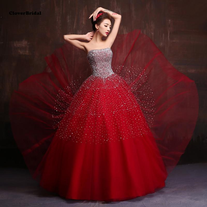 2017 high quality hand-made sequins burgundy   prom     dresses   with lots stones Borgonha vestidos de baile com pedras lantejoula