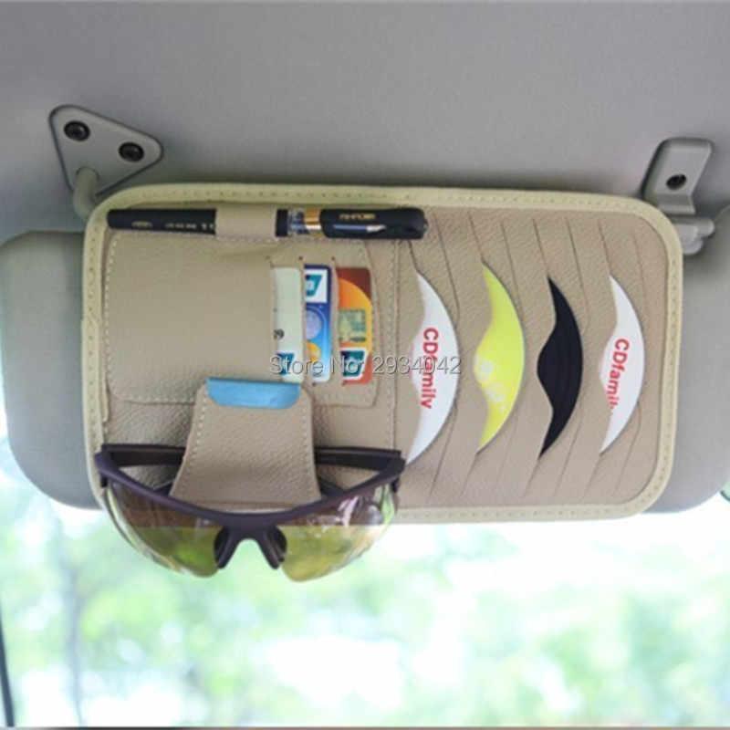 Автомобильные аксессуары чехол для компакт-дисков Автомобильный козырек DVD дисковая карта режущий мешок автомобильный Стайлинг для Chevrolet Cruze Aveo captiva trax epica spark 2011