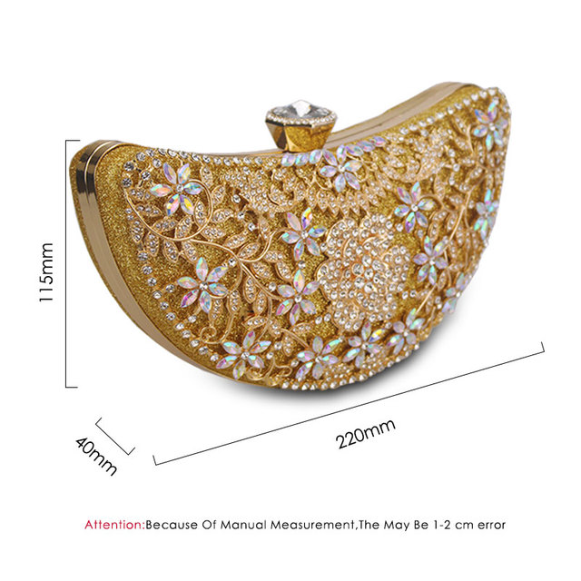 Classic Evening Shoulder Crystal Handbag