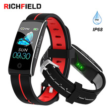 New Smart Bracelet Women Band IPX8 Waterproof Smartband Blood Pressure Heart Rate Fitness Tracker Wristband Men Sport