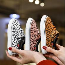 Children Toddler Baby Boys Leopard Print Sneaker Girl Soft Anti-slip Sport
