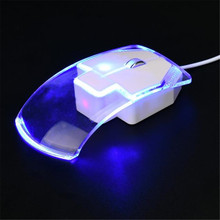 Professional Wired Mouse Computer Gaming 1600 DPI Optical US