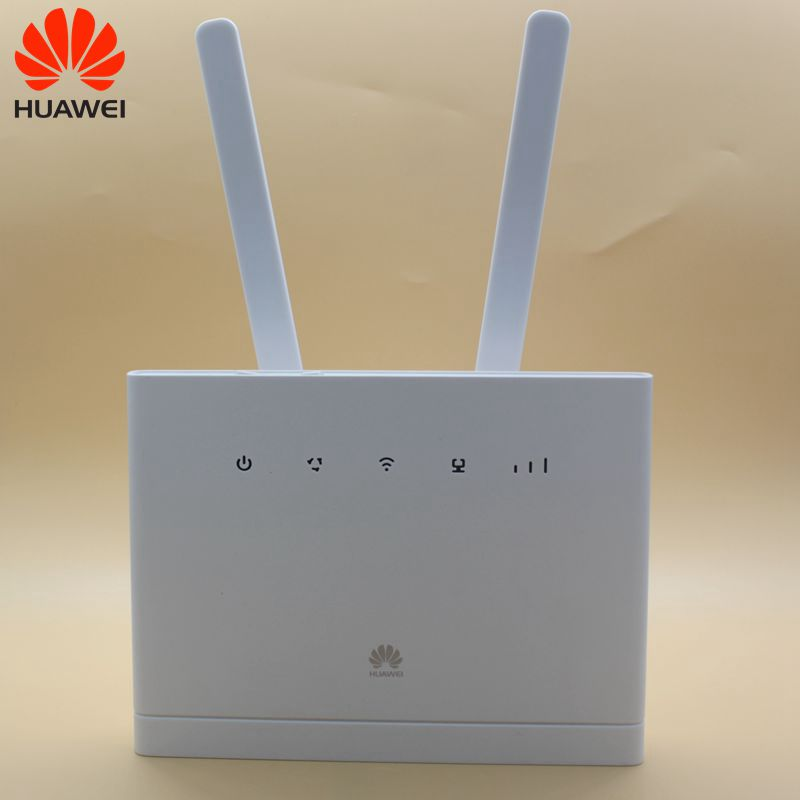 Unlocked Huawei B315 B315s-22 with Antenna 150Mbps 4G LTE CPE WIFI ROUTER Modem with Sim Card Slot Up to 32 Devices PK B310 image
