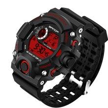 Men Sports Watches S-SHOCK Military Watch Fashion Wristwatches Dive Men's Sport LED Digital Watches Waterproof Relogio Masculino