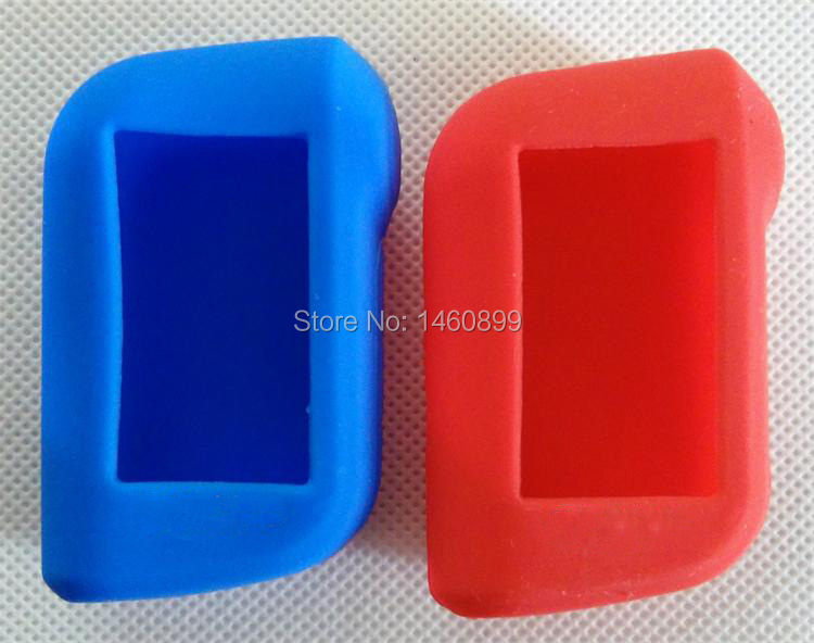 Blue/Red Silicone Key Case,...