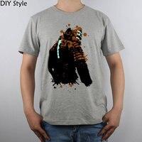 Espacio muerto 2 salpicadura camiseta Top Algodón puro hombres camiseta nueva diseño alta calidad