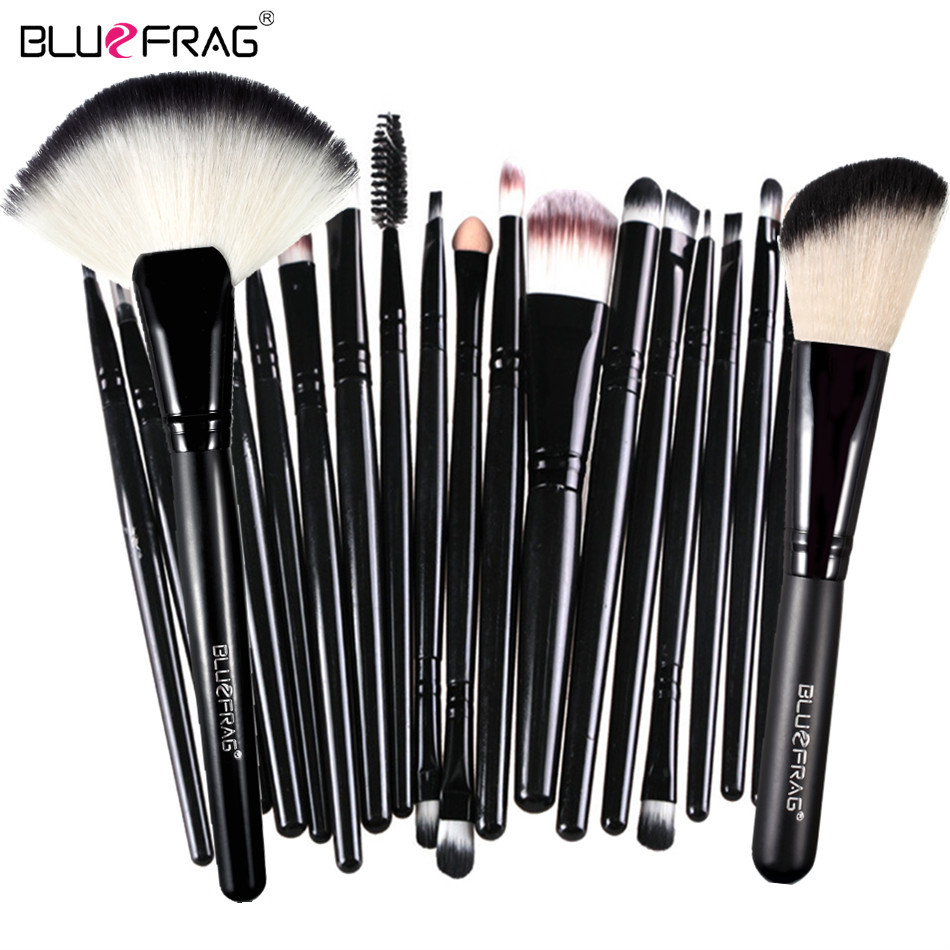 New Makeup Brushes Pro 22Pcs Cosmetic Bulsh Set Powder Foundation Eyeshadow Eyeliner Lip Make up Brush Beauty Tools Maquiagem цена