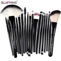 22 Pcs Eyeshadow Foundation Eyeliner Lip Cosmetic Brushes BLUEFRAG Brand Makeup Brushes Professional Brush Beauty Cosmetic